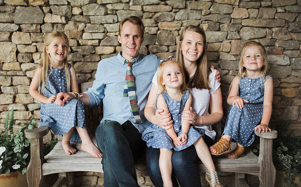 Tanner and Emily Chapman Richards and their three girls
