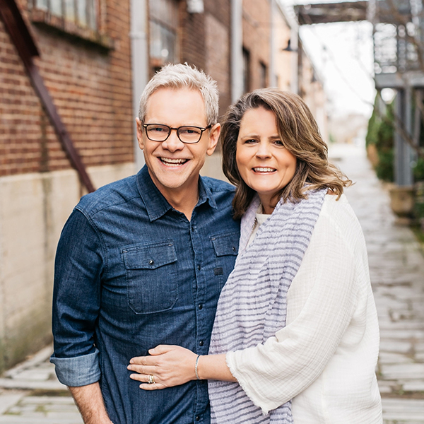 Mary Beth and Steven Curtis Chapman