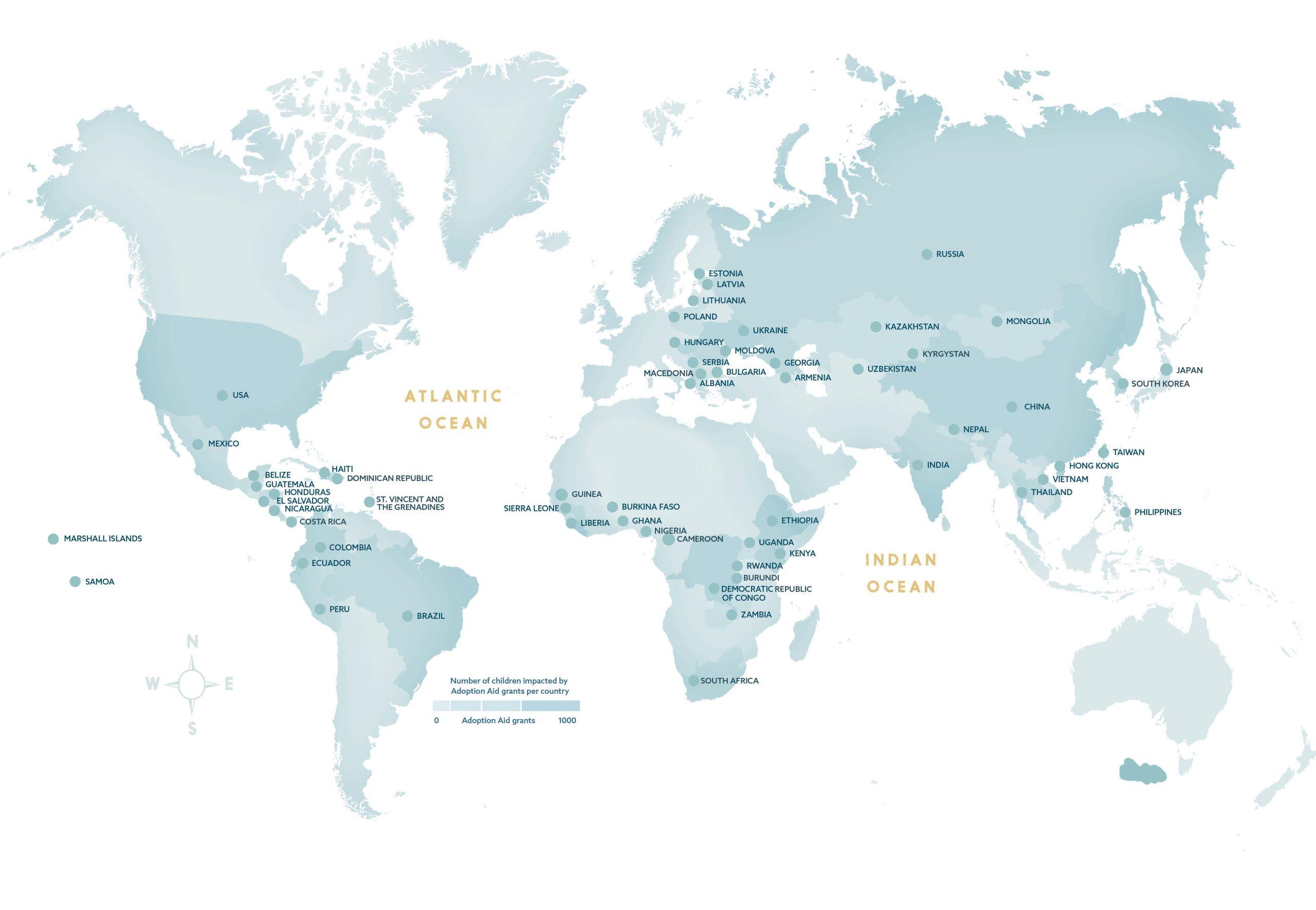 Adoption Aid Map